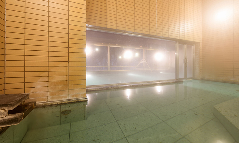 Indoor public bath